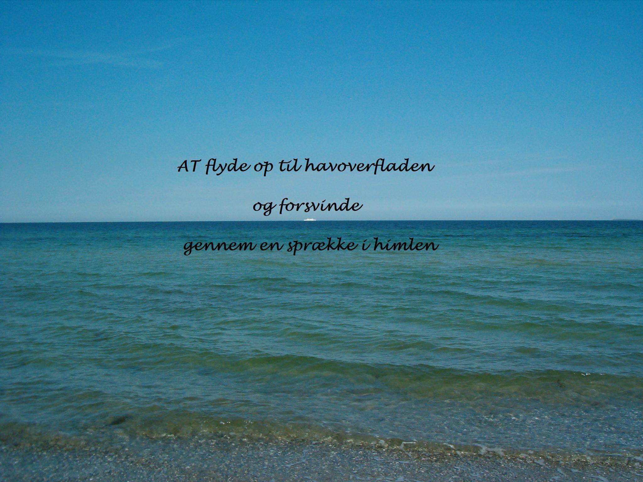 citater om havet Text mellem himmel og hav | Ilse Aranti – For enden af regnbuen… citater om havet