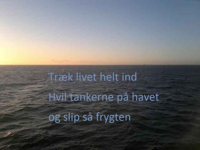 haiku på havet